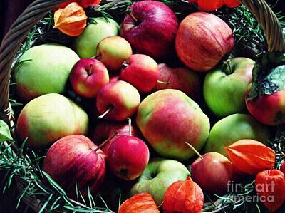 Photograph - Apples by Sarah Loft