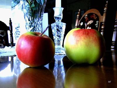 Apples Still Life Art Print by Will Borden