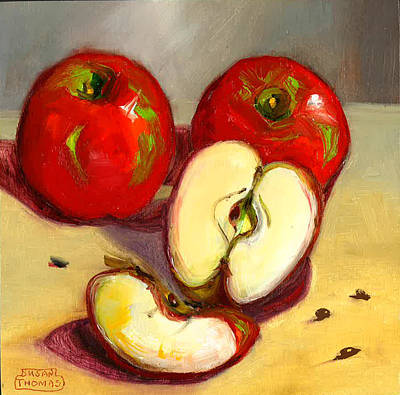 Painting - Apples by Susan Thomas