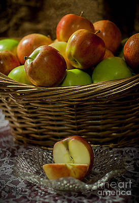 Apples To Share Art Print