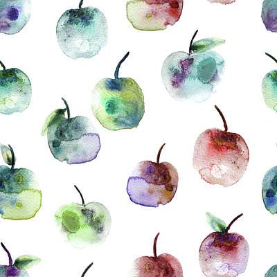 Apples Print by Varpu Kronholm