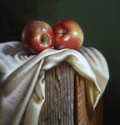 Painting - Apples by William Albanese Sr