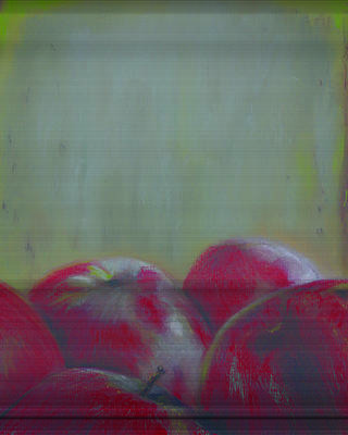 Paul Autodore Art Pastel - Applesyo by Paul Autodore