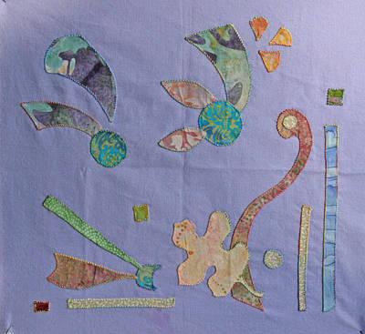 Applique 3 Art Print by Eileen Hale