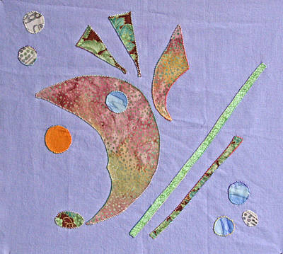 Tapestry - Textile - Applique 5 by Eileen Hale