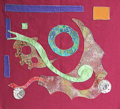 Applique 6 Art Print by Eileen Hale