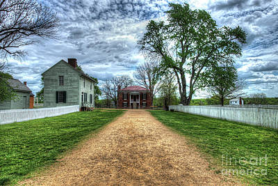Hager Wall Art - Photograph - Appomattox County Courthouse, Appomattox, Virginia  by Greg Hager