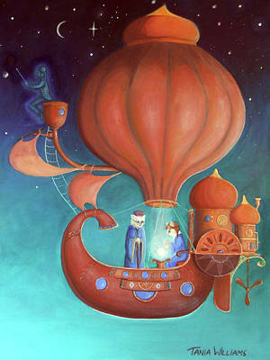 Apprenticeship Art Print by Tania Williams