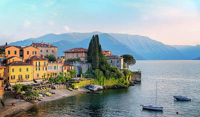 Photograph - Approach Of Evening In Varenna by Carolyn Derstine