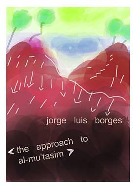 Approach To Al Mutasim Poster  Art Print