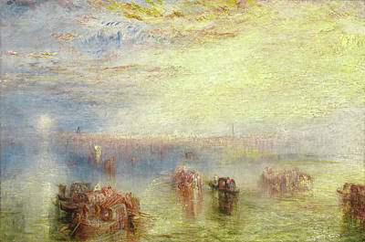 Painting - Approach To Venice by William Turner