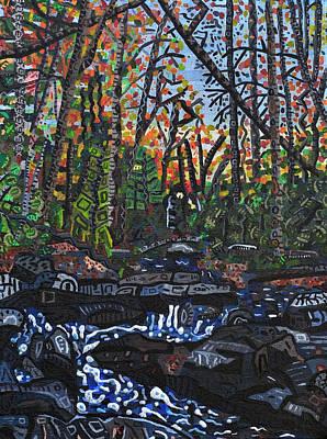 Approaching Big Bradley Falls Art Print by Micah Mullen