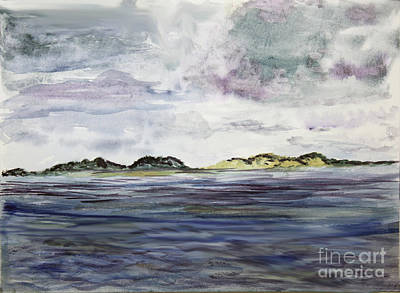 Plein Painting - Approaching Costa Rica by Donna Walsh