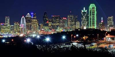Photograph - Approaching Dallas From Fort Worth by Frozen in Time Fine Art Photography