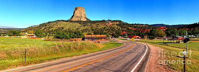 Photograph - Approaching Devils Tower by Adam Jewell