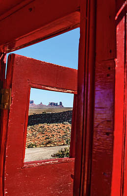 Photograph - Approaching Monument Valley From Goulding's Lodge by Phil Cardamone