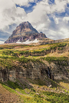 Photograph - Approaching Mount Reynolds by John M Bailey