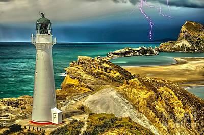 Digital Art - Approaching Storm 2015 by Kathryn Strick