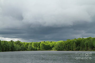 Photograph - Approaching Storm, Dave Lake by Kevin McCarthy