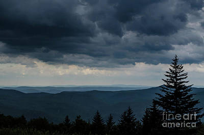 Approaching Storm Photograph - Approaching Storm Highland Scenic Highway by Thomas R Fletcher