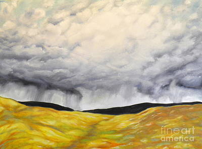 Painting - Approaching Storm by Ida Eriksen