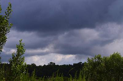 Photograph - Approaching Storm In Color by Warren Thompson