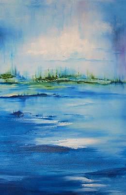 Approaching Storm Art Print by Larry Ney  II