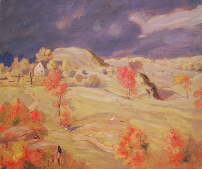 Approaching Storm Painting - Approaching Storm by Mountain Dreams