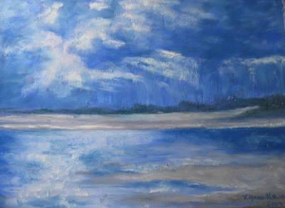 Approaching Storm Art Print by Lynne Vokatis