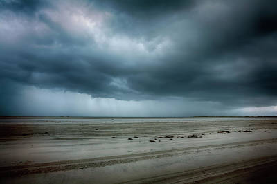 Photograph - Approaching Storm On Ocracoke Outer Banks by Dan Carmichael