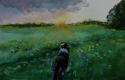 Painting - Approaching Storm by Sheila Wedegis