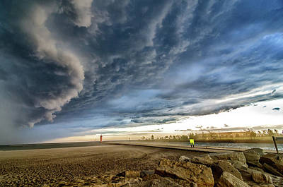 Photograph - Approaching Storm by Steven Santamour
