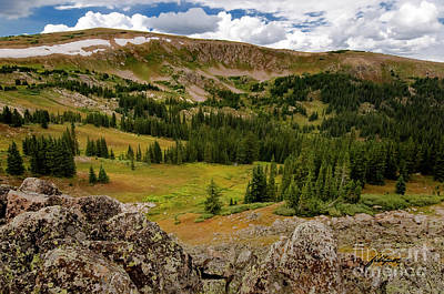 Photograph - Approaching The Great Divide by Jim Fillpot