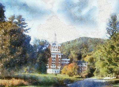 Photograph - Approaching The Homestead by Paulette B Wright