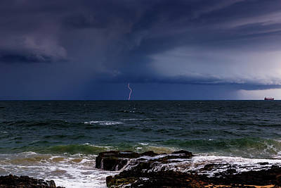 Photograph - Approaching Thunder Storm by Robert Caddy