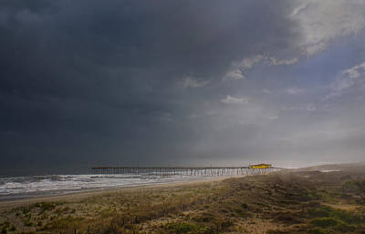 Frisco Pier Photograph - Approaching Thunderstorm by Andreas Freund