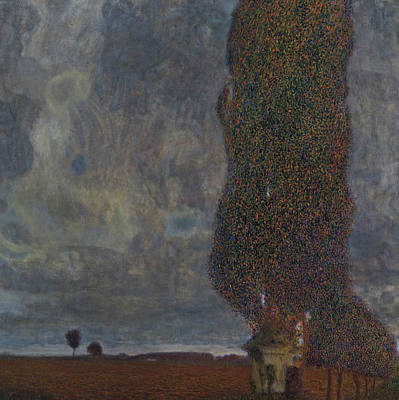 Painting - Approaching Thunderstorm  by Gustav Klimt
