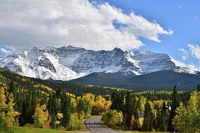 Photograph - Approaching Trout Lake On Highway 145 by Ray Mathis