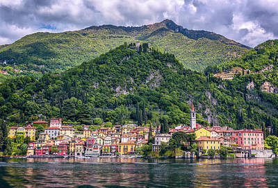 Photograph - Approaching Varenna Italy by Joan Carroll