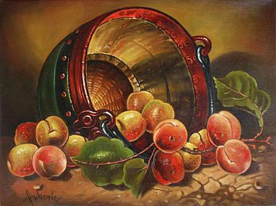 Apricots Original by Dusan Vukovic