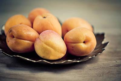 Apricot Photograph - Apricots by Nailia Schwarz