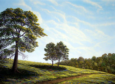 April Afternoon Art Print by Frank Wilson