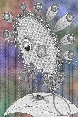 Digital Art - April Fool by Becky Titus