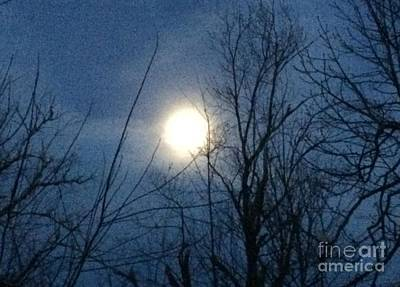 Photograph - April Moonlight by Patricia E Sundik