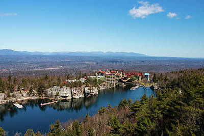 Photograph - April Morning At Mohonk by Jeff Severson