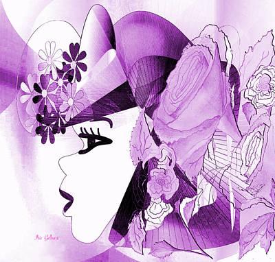 Digital Art - April My Love by Iris Gelbart