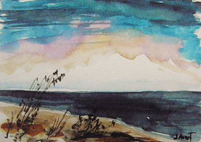 Painting - April On The Atlantic by John Williams