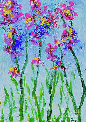 Painting - April Showers Bring May Flowers by Alys Caviness-Gober