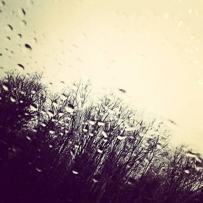 Rain Photograph - April Showers... #rain #potd by Erin Cadigan