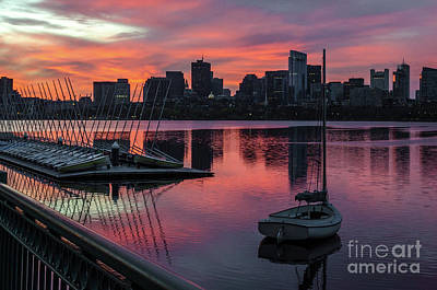 Photograph - April Sunrise by Mike Ste Marie